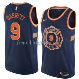 Maillot New York Knicks R.j. Barrett Ciudad 2019-20 Bleu