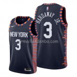 Maillot New York Knicks Tim Hardaway Jr. Ville Edition Bleu