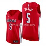 Maillot Washington Wizards Bobby Portis Earned Rouge