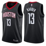 Maillot Basket Authentique Houston Rockets Harden 2017-18 13 Noir