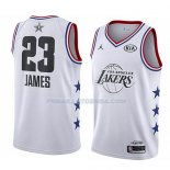 Maillot All Star 2019 Los Angeles Lakers Lebron James Blanc