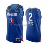 Maillot All Star 2020 Los Angeles Lakers Anthony Davis Authentique Bleu