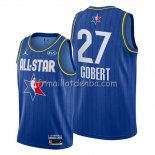 Maillot All Star 2020 Utah Jazz Rudy Gobert Bleu