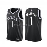 Maillot Brooklyn Nets Jamal Crawford Noir Icon