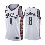 Maillot Brooklyn Nets Spencer Dinwiddie Ville Blanc