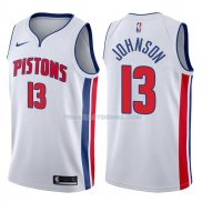 Maillot Detroit Pistons Brice Johnson Association 2017-18 13 Blancoo