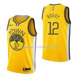 Maillot Golden State Warriors Andrew Bogut Earned 2018-19 Jaune
