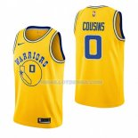 Maillot Golden State Warriors Demarcus Cousins Hardwood Classic 2018-19 Jaune