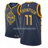 Maillot Golden State Warriors Klay Thompson 2018-19 Bleu
