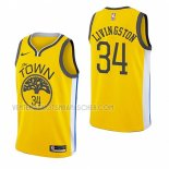 Maillot Golden State Warriors Shaun Livingston Earned 2018-19 Jaune
