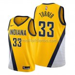 Maillot Indiana Pacers Myles Turner Statement Edition Jaune