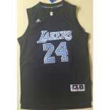 Maillot Basket Los Angeles Lakers Bryant Diamond Edition 24 Noir