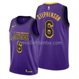 Maillot Los Angeles Lakers Lance Stephenson Ciudad 2019 Volet
