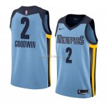 Maillot Memphis Grizzlies Brandon Goodwin Statement 2018 Bleu