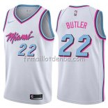 Maillot Miami Heat Jimmy Butler Ciudad 2019 Blanc