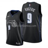 Maillot Orlando Magic Nikola Vucevic Ville Edition Noir
