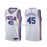 Maillot Philadelphia 76ers Ryan Broekhoff Association Blanc