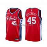 Maillot Philadelphia 76ers Ryan Broekhoff Statement Rouge