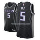 Maillot Sacramento Kings De'aaron Fox Statement 2018-19 Noir