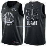 Maillot All Star 2018 Golden State Warriors Kevin Durant 35 Noir