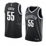 Maillot Brooklyn Nets Mitch Creek Icon 2018 Noir