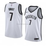 Maillot Brooklyn Nets Nuni Omot Association 2018 Blanc
