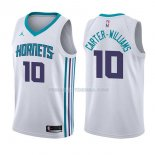 Maillot Charlotte Hornets Michael Carter Williams Association 2017-18 10 Blancoo