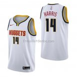 Maillot Denver Nuggets Gary Harris Association Blanc
