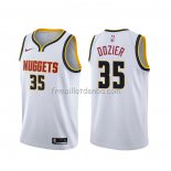 Maillot Denver Nuggets P.j. Dozier Association Blanc