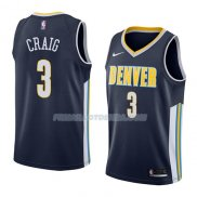 Maillot Denver Nuggets Torrey Craig Icon 2018 Bleu
