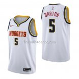 Maillot Denver Nuggets Will Barton Association Blanc