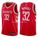 Maillot Houston Rockets Brandan Wright Icon 2017-18 32 Rojo