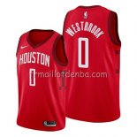 Maillot Houston Rockets Russell Westbrook Earned 2019 Rouge