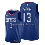 Maillot Los Angeles Clippers Paul George Icon 2019 Bleu