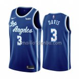 Maillot Los Angeles Lakers Anthony Davis Classic 2019-20 Bleu