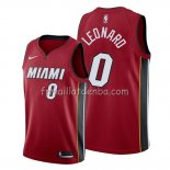 Maillot Miami Heat Meyers Leonard Statement Rouge