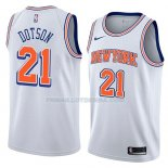 Maillot New York Knicks Damyean Dotson Statement 2018 Blanc Blanc