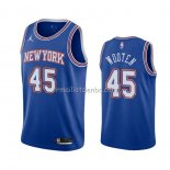 Maillot New York Knicks Kenny Wooten Statement 2020-21 Bleu