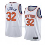Maillot New York Knicks Noah Vonleh Association 2018 Blanc Blanc