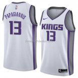 Maillot Sacramento Kings Georgios Papagiannis Association 2018 Blanc