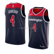 Maillot Washington Wizards Wesley Johnson Statement 2018 Noir
