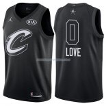 Maillot All Star 2018 Cleveland Cavaliers Kevin Love 0 Noir