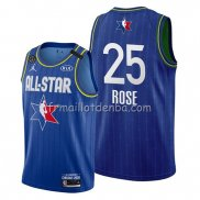 Maillot All Star 2020 Detroit Pistons Derrick Rose Bleu