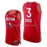 Maillot All Star 2020 Western Conference Anthony Davis Rouge