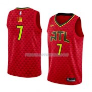 Maillot Atlanta Hawks Jeremy Lin Statement 2018-19 Rouge