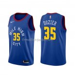 Maillot Denver Nuggets P.j. Dozier Statement Bleu