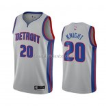 Maillot Detroit Pistons Brandon Knight Statement 2020-21 Gris