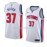 Maillot Detroit Pistons Reggie Hearn Association 2018 Blanc