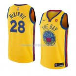 Maillot Golden State Warriors Alfonzo Mckinnie Ciudad 2018-19 Jaune