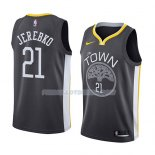 Maillot Golden State Warriors Jonas Jerebko Statement 2018-19 Noir